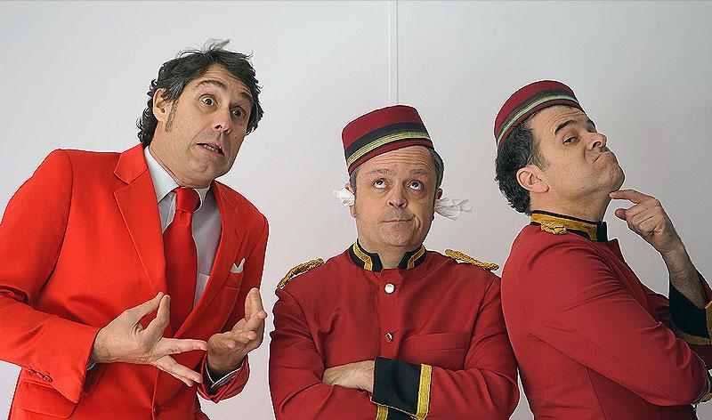 """Hotel Flamingo"", Amb Edu Méndez, Carles Bigorra i Gerard Domènech. Humor (Clownic)."